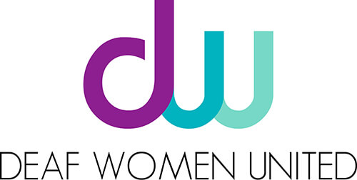 Deaf Women United Logo