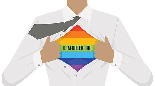 DeafQueers.org Logo