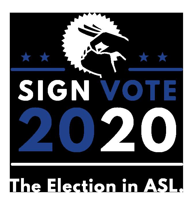 SignVote 2020 Logo
