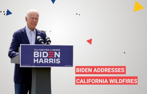 Biden Addresses Wildfires