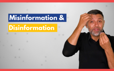 Misinformation and Disinformation – SignVote Series
